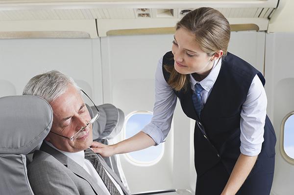 老年人坐飛機要注意什麼? 1