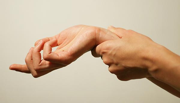手指麻木,腕隧道症候群 1