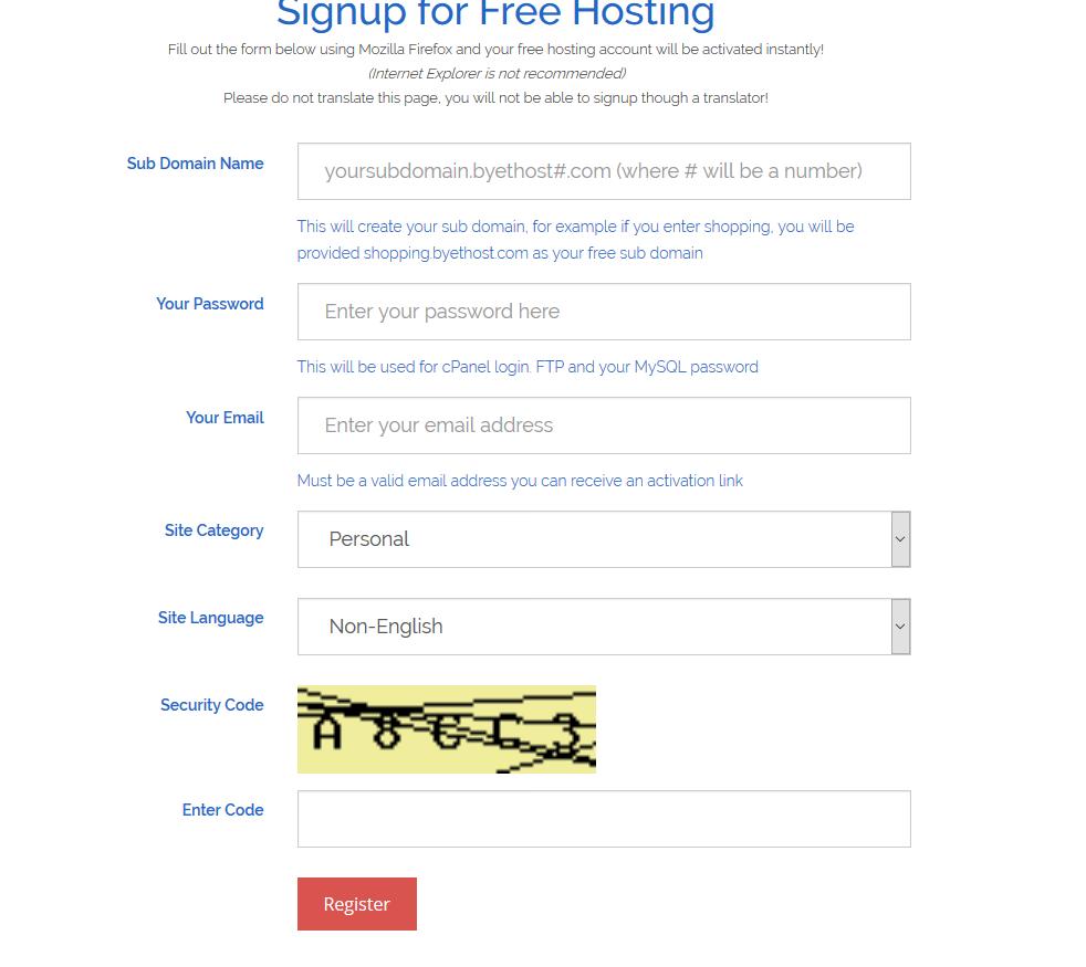 好用免費網路空間推薦byet.host-cpanl管理|php|可裝WP等CMS 2